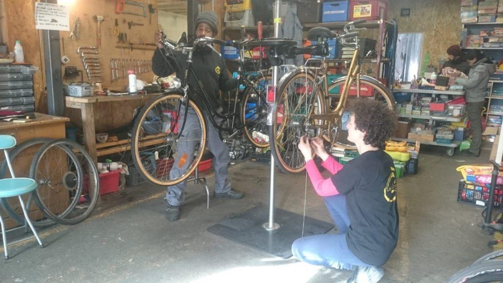 réparation de vélo la glanerie