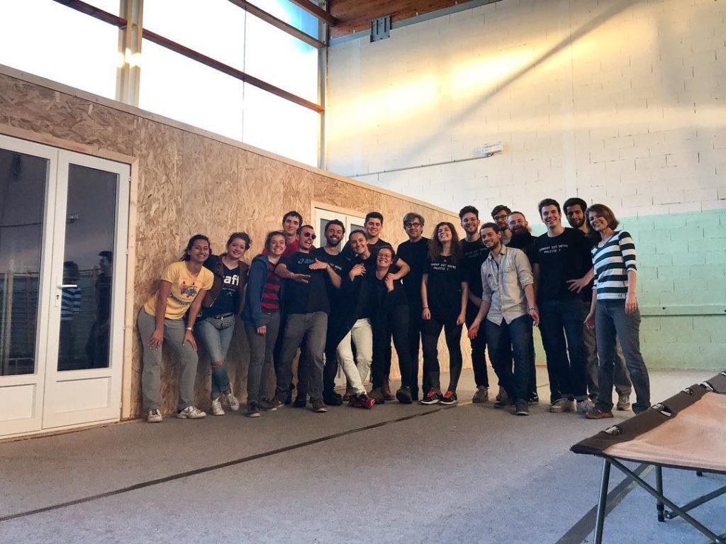 bénévoles unity cube